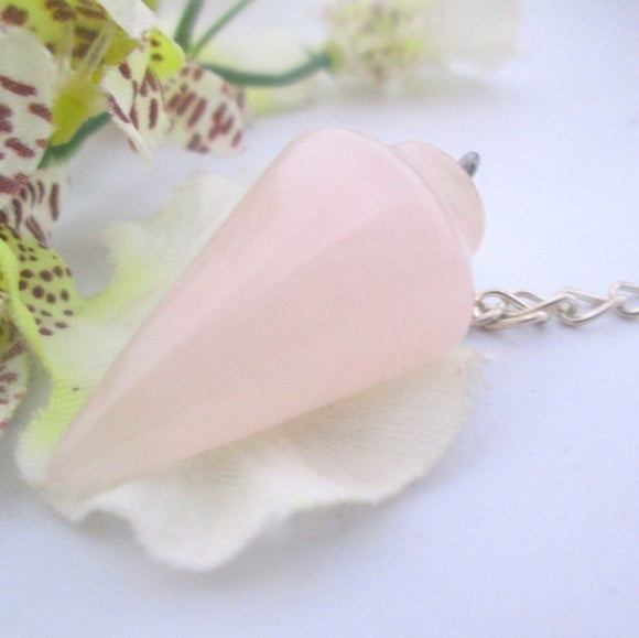 Rose Quartz Pendulum
