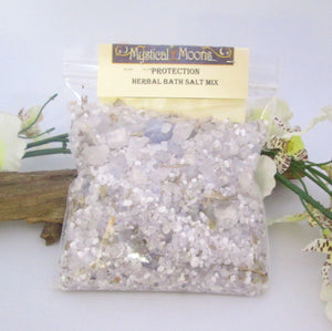 Protection Herbal Sea Salt Bath