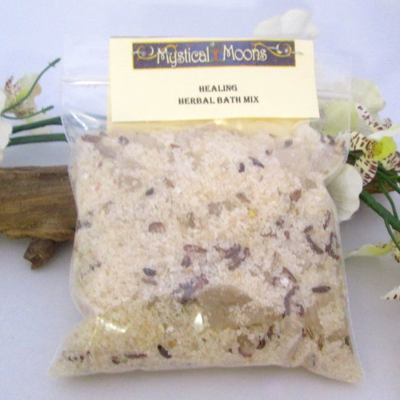 Healing Herbal Sea Salt Bath