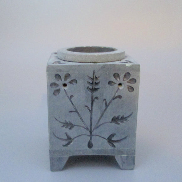 Flowering Soapstone Oil Diffuser