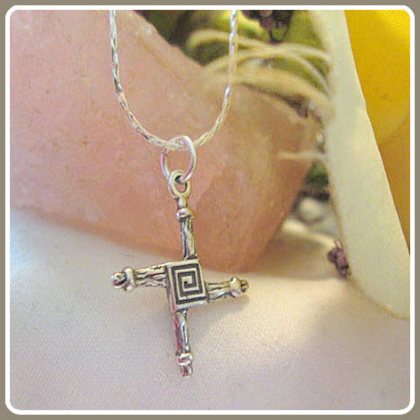 Bridget's Cross Sterling Silver Necklace Box Set