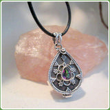 """What's Your Poison"" Mystic Topaz Sterling Silver Pendant Necklace"