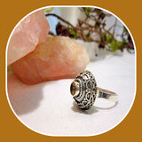Passion & Success Citrine Sterling Silver Ring Size 7.5