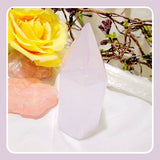 """Peaceful Meditation "" Selenite  Point"