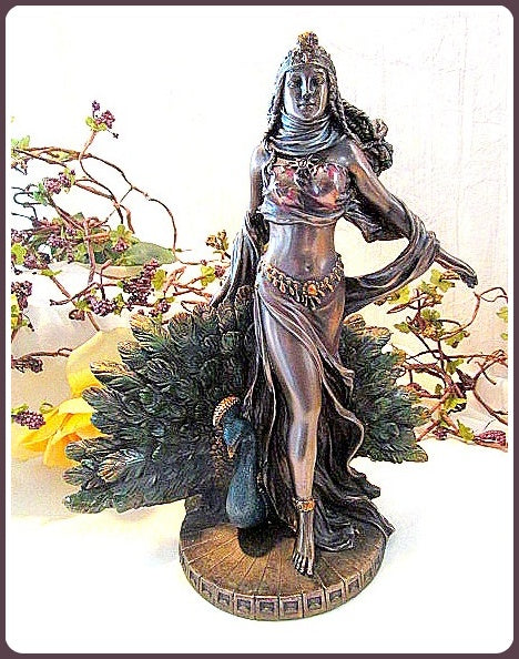 Goddess Hera Statue - Goddess of Women, Marriage & Women's Fertility