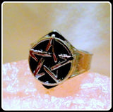 Pentagram Stainless Steel Ring
