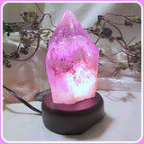 Amethyst Point Crystal Lamp