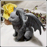 """Guardian Winged Cat"" Gargoyle"
