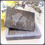 """Zeus Seeking Europa"" Soapstone Keepsake Box"