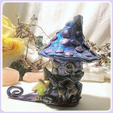 Zebradorite Wizard Fairy Boot House