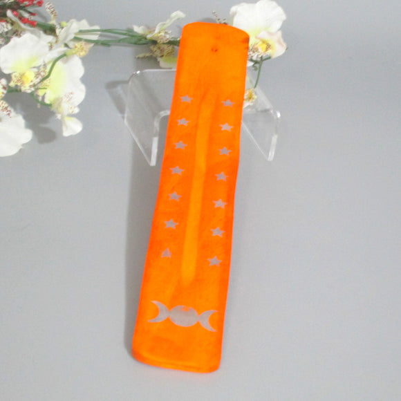 Triple Moon Chakra Incense Holder