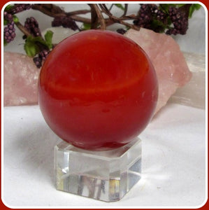 Red Jasper Sphere & Stand