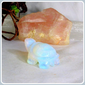 """Blockage Removing"" Opalite  Turtle Totem"