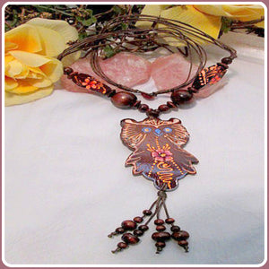 """Gypsy Owl"" Necklace"