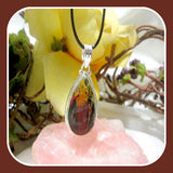 """Tranquility"" Australian Pilbara Sterling Silver Pendant & Chain"