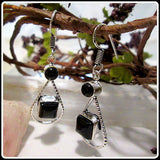 Grounding Protecting Black Onyx Earrings