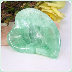 """Inspiration"" Fluorite Heart Bowl"