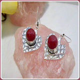 Wrapped in Carnelian Warmth Earrings