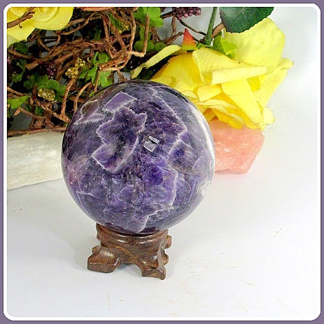 Dream Amethyst Sphere & Stand
