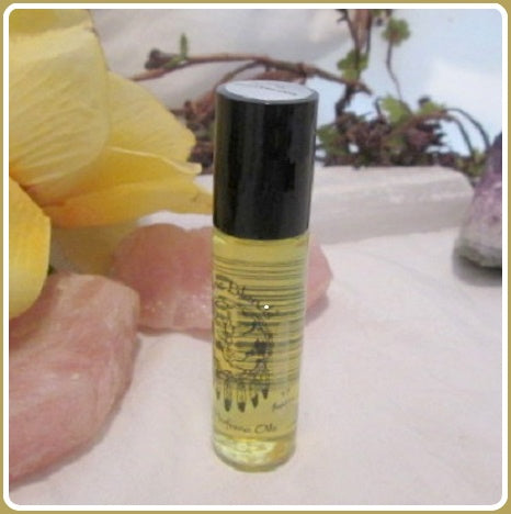 Golden Honeysuckle Roll On Oil Perfume