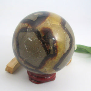 Septarian Dragon Sphere & Stand