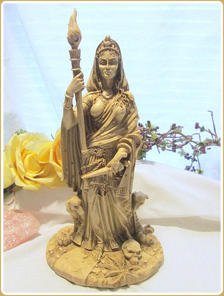 Goddess Hecate Statue - Goddess of The Crossroads