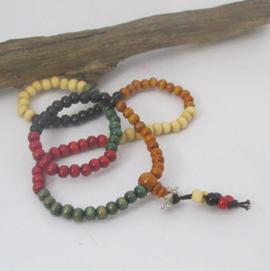 Multi Colored Sandalwood Mala