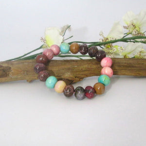 """Encouraging Peace & Grounding"" Meditation Power Bracelet"
