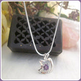 Peace & Healing Amethyst Necklace Box Set