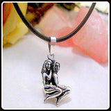 """Lovers"" Sterling Silver Necklace Boxed Set"