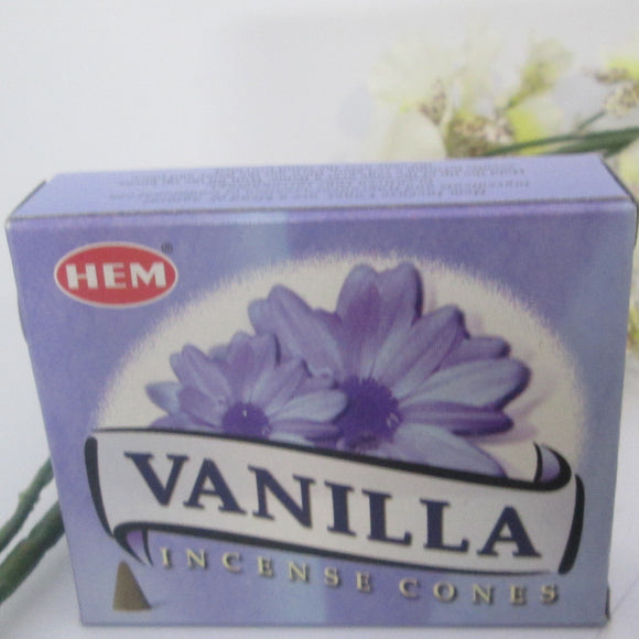 Vanilla Cone Incense