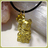"""Maneki-neko the Lucky"" Money Cat Amulet"