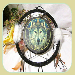 """Wilde One"" Dream Catcher"