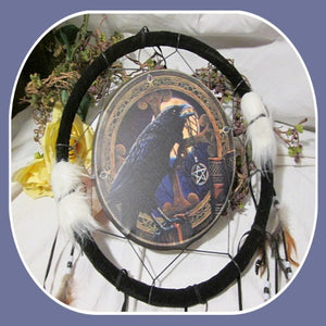 Power of the Raven Dream Catcher
