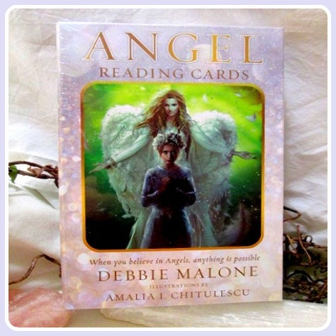 Angel Reading Cards Deck & Book