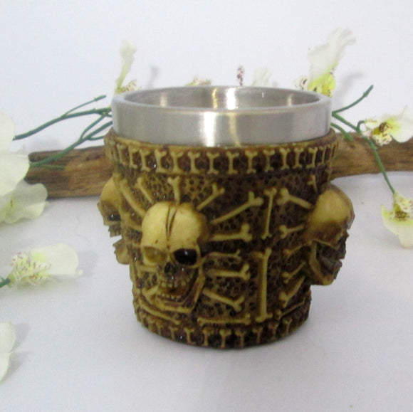 Skull & Bones Shot Glass