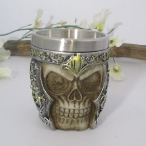 Viking Skully Shot Glass
