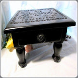 """Spirit Board"" Altar Table with Drawer"
