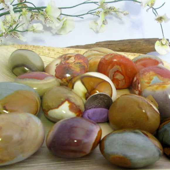 Healing Polychrome Pocket Stone