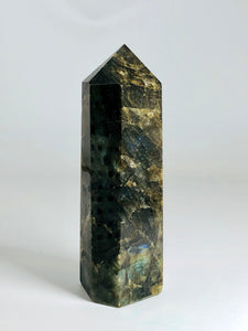 """Aura of Protection"" Labradorite Tower"