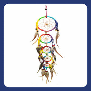 "Over The Rainbow"" Dream Catcher"