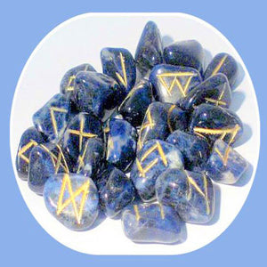 """Truth Seeker"" Sodalite Rune Set"