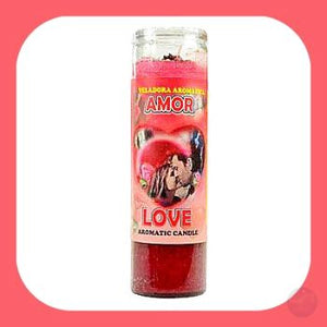 Amor Aromatic 7-Day Jar Candle Candles Mystical Moons