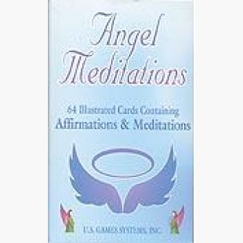 Angel Meditation Cards Tarot Mystical Moons