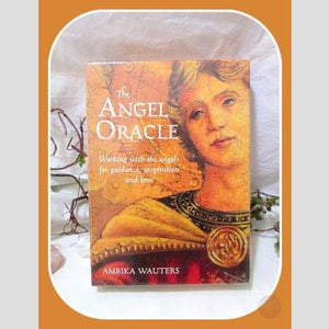Angel Oracle Deck & Book Tarot Cards Mystical Moons