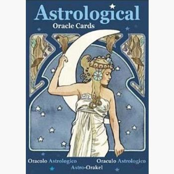 Astrological Oracle Cards Tarot Mystical Moons