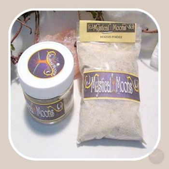 Benzoin Powder Resin Mystical Moons