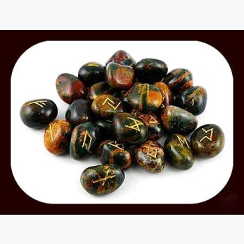 Bloodstone Rune Set Mystical Moons