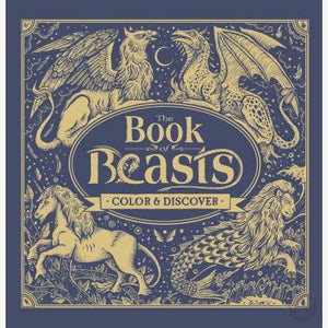 Book Of Beasts Coloring Books Mystical Moons