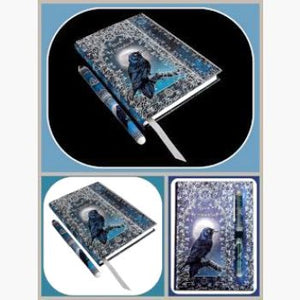 Book Of Shadows With Pen Journal Mystical Moons